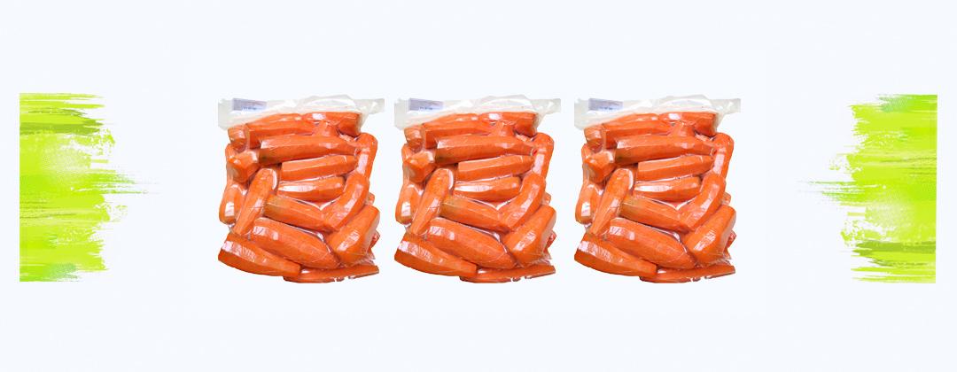 морковь в вакууме
